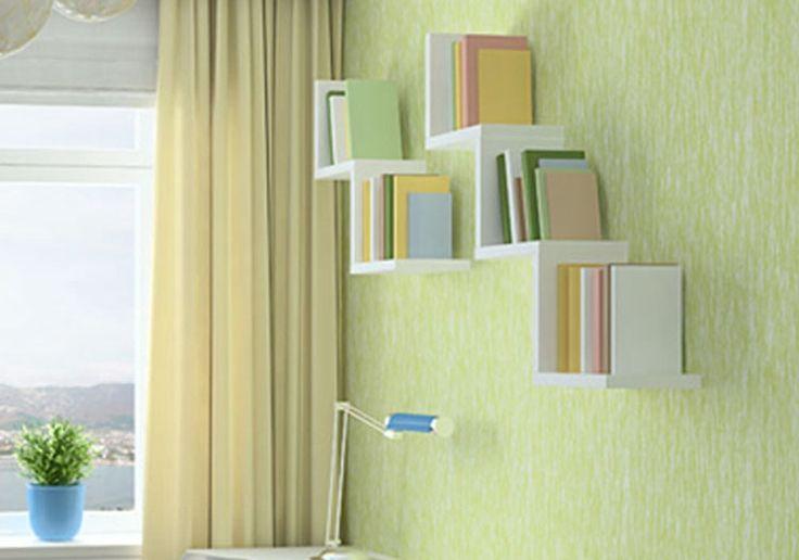 Sala de estar decorativo quadro ripa prateleiras de parede suporte de montagem prateleiras de parede prateleira prateleiras