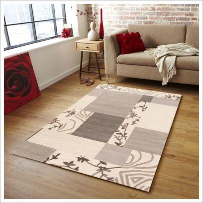 Premium Designer Wool Patch Rug Network Rugs | Wayfair