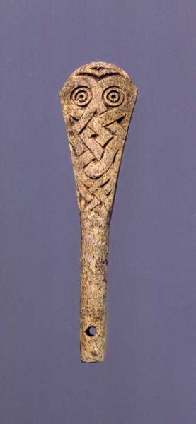 Viking Age,/Flute /Made of bone Danish