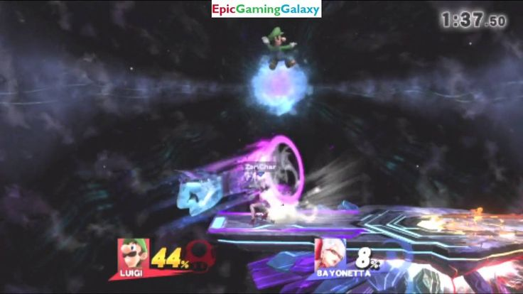 Bayonetta VS Luigi In A Super Smash Bros. For Wii U Online Match / Battle / Fight #81 This video showcases Gameplay Of Bayonetta VS Luigi From The Super Mario Series In A Super Smash Bros. For Wii U Online Match / Battle / Fight #81