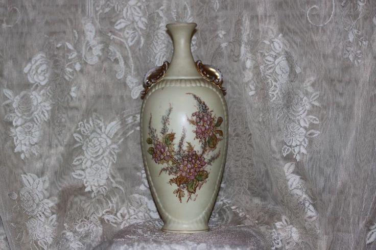 Vintage LARGE Vase Germany Royal Rudolstadt RW Antique Porcelain Hand Painted #RoyalRudolstadtRW