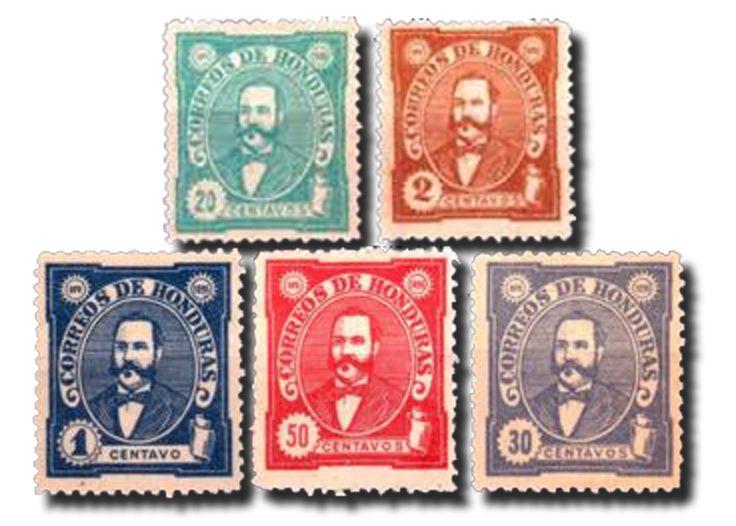 1896 Honduras  Il sognatore guerriero