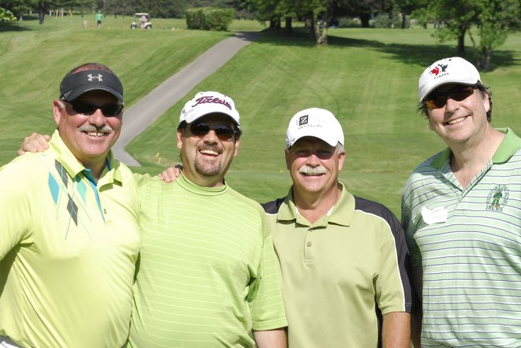 The McMaster boys from our HDD golf tournament.