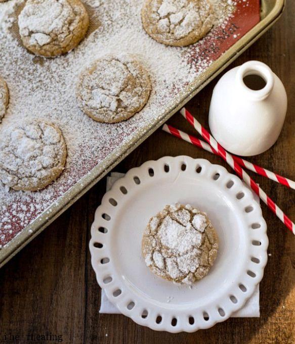 Cinnamon-Sugar Crinkle Cookies | Recipe | Crinkle Cookies, Cinnamon ...