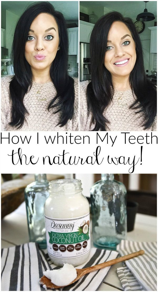 Oil Pulling - How I Whiten My Teeth -