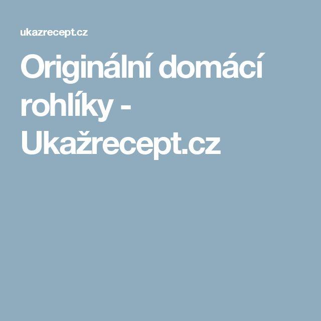 Originální domácí rohlíky - Ukažrecept.cz
