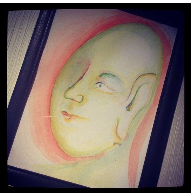 What is what 2 Akvarell 17x23 #målning #akvarell #allkonstnär #konst #lis1 #lis1design