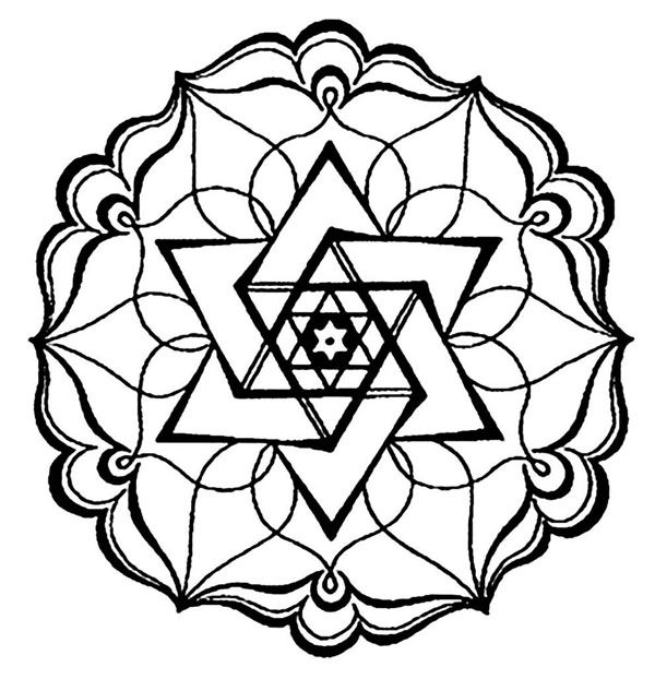 A Few Different Printable Mandalas Geometrische Malvorlagen Muster Malvorlagen Mandala Kunst
