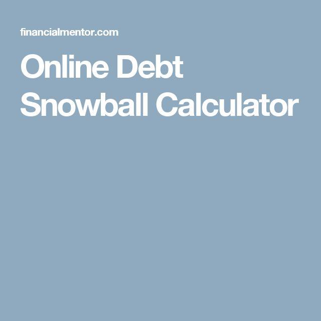 snowball debt payoff calculator hgvi
