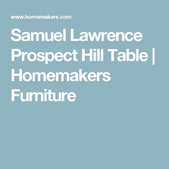 Samuel Lawrence Prospect Hill Table | Homemakers Furniture