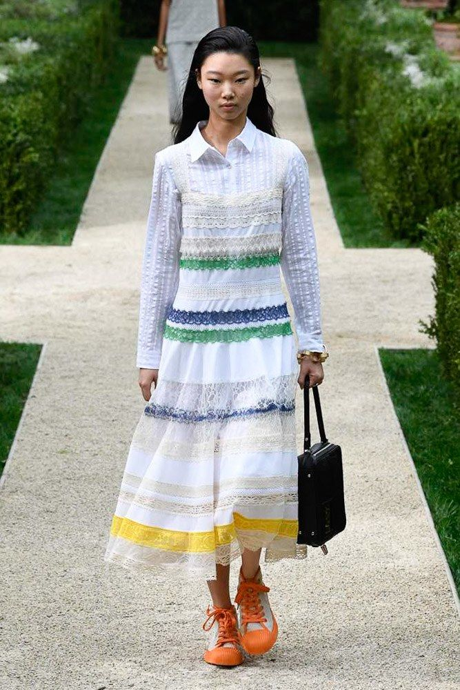 a44c85cb9cab Tory Burch Spring 2019 Ready-to-Wear Fashion Show in 2019 | LUV ...