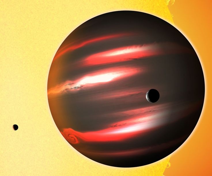 Why is this planet so dark? Planet TrES-2b reflects back less than one percent of the light it receives, making it darker than any known planet or moon, darker even than coal. Jupiter-sized TrES-2b orbits extremely close to a sun-like star 750 light years away