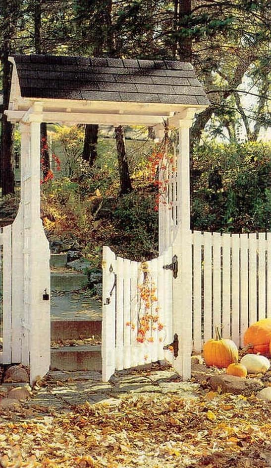 17 Best Images About Garden Gates And Fences On Pinterest