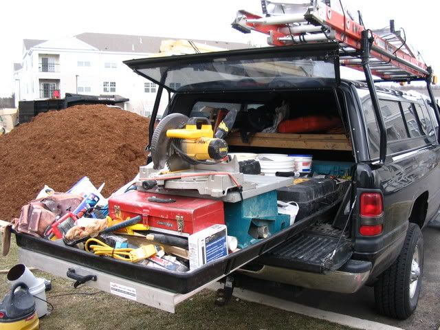 Truck Bed Slide Out Carpentry Contractor Talk Trucks