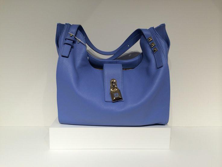 Patrizia Pepe Shoulder Bag for Women On Sale, Black, polyurethane, 2017, one size
