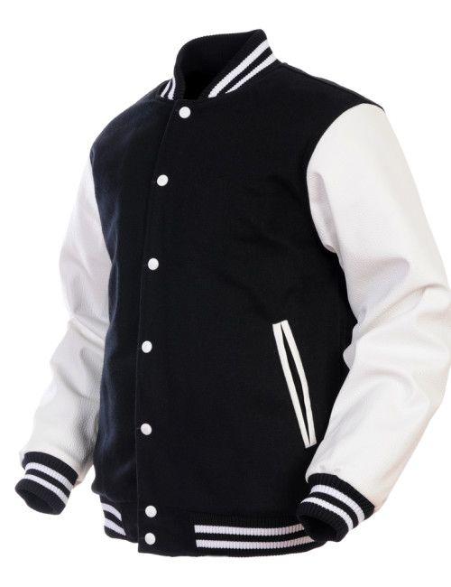 LetterMan Wool Bomber Jacket