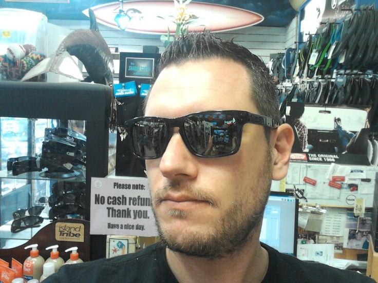 New shades.