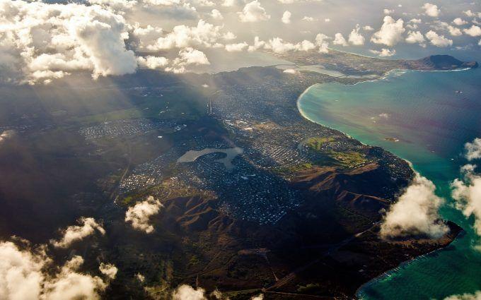 City Aerial View 4K