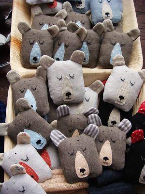 Solo imagen  Cabezas de oso