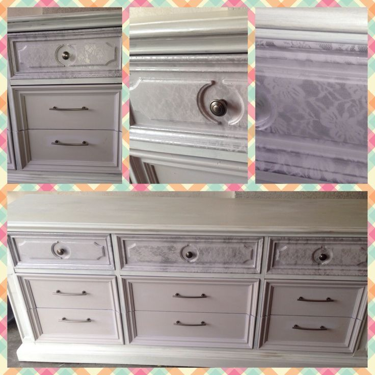 Diy Chalk Paint Dresser Refurb Homemade Finished With Maison Blanche