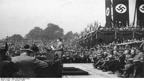 Mitin de Hitler