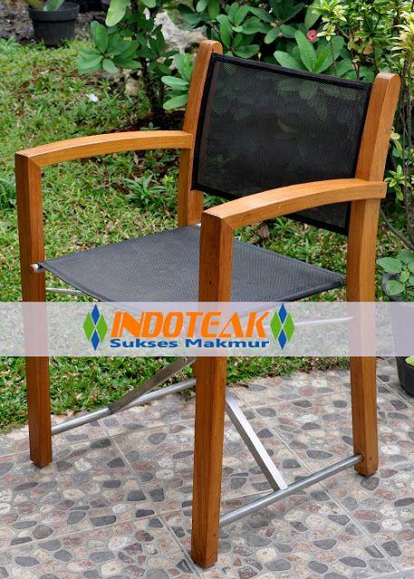 Teak Outdoor Furniture Combined Sling Textilene Batyline Fabrics Exporter And Manufacturer Of Garden Fu