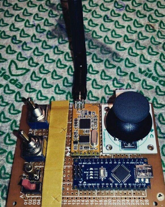 Arduino quadcopter joystick