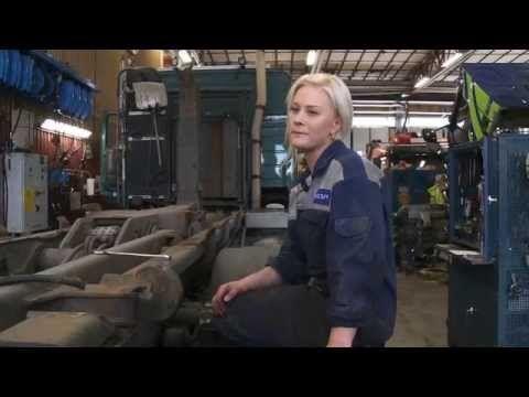 Lastbilsmekaniker Yrkesfilm Arbetsförmedlingen - YouTube
