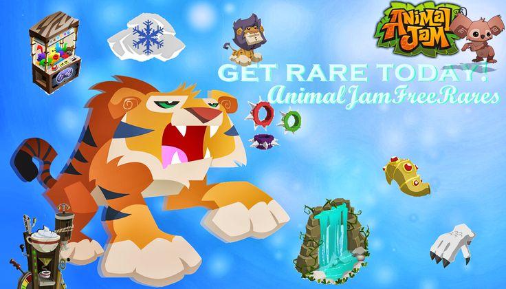 animal jam | Free Animal Jam RARES!