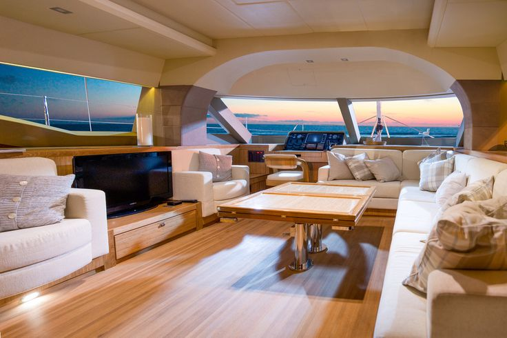 Luxury yacht interior  Isaras 50 Interior by DJF-solo