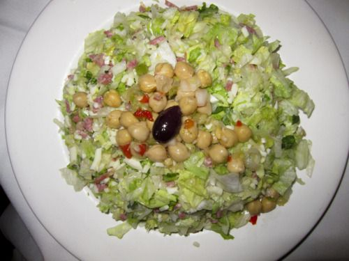 La Scala chopped salad