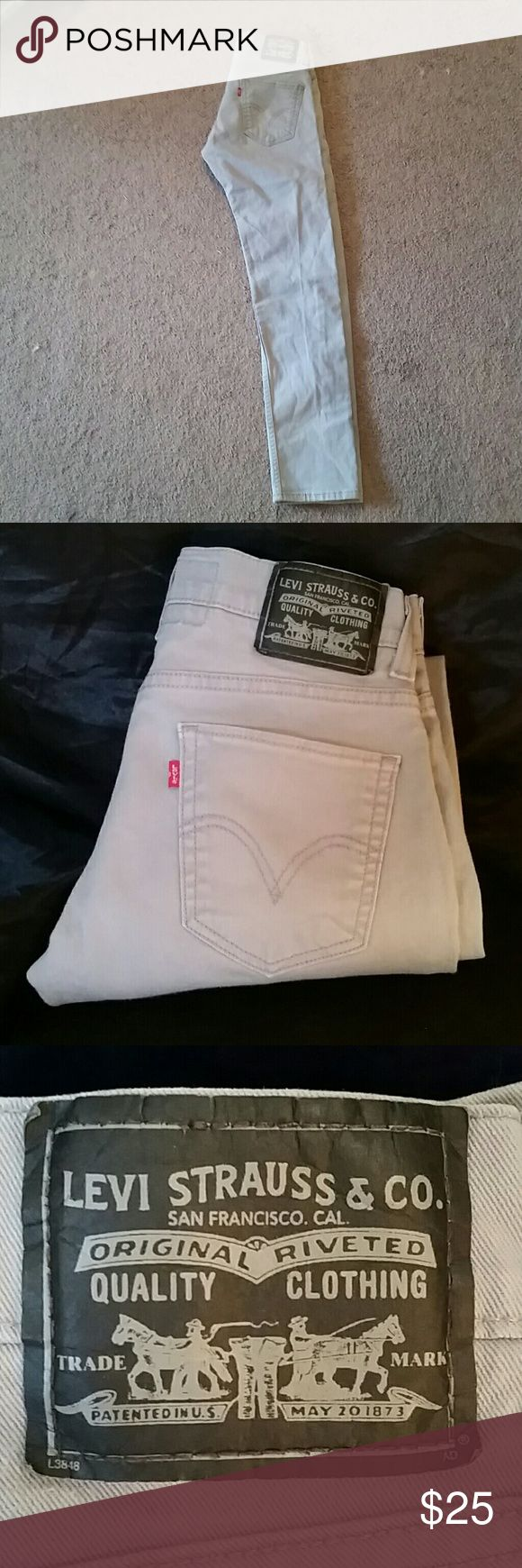 Levis 511 grey skinny jeans Men's Brand new pair of Levis without tags. Never worn or washed. Skinny jeans. Levi's Jeans Skinny