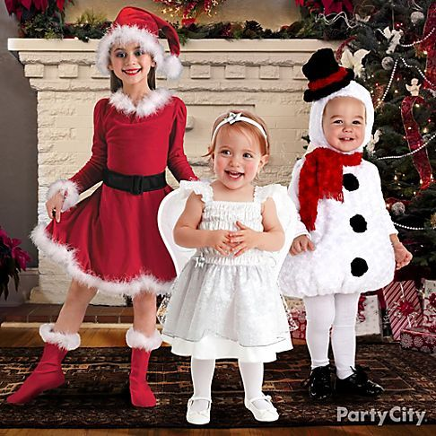 These best-loved kids' Christmas costumes make it easy to capture the perfect moment.
