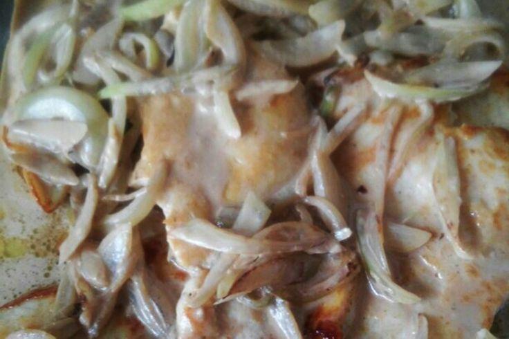 Filé de frango grelhado ao molho shoyu