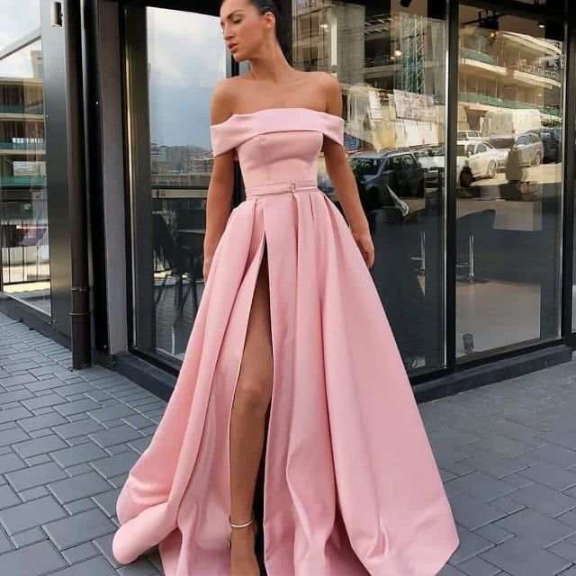 Pin by bella on dress ideas | Pink formal dresses, Pink prom