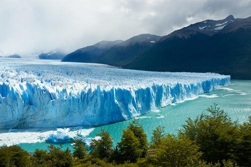 before it melts away: Perito Morenogletsjer in het Nationaal park Los Glaciares, Argentinië