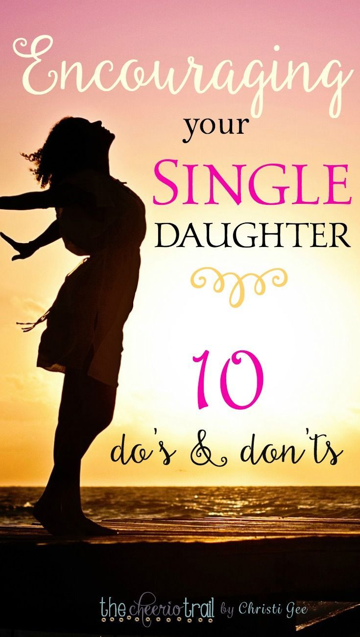 Encouraging a single daughter or anyone struggling with singleness is a unique endeavor. This struggle with singleness is unlike most trials you might try to encourage someone through. The emotions are raw and the intensity rises and falls and can change without warning. via @ChristiLGee