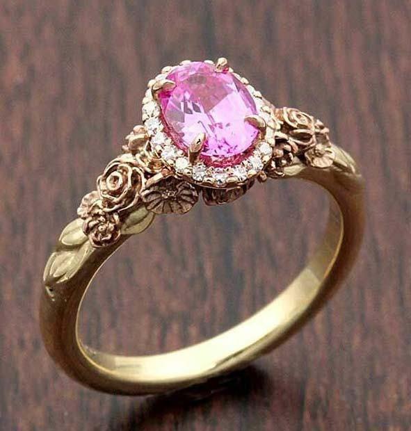 21 Most Beautiful Engagement Rings 7 Princess Ring Diamondring