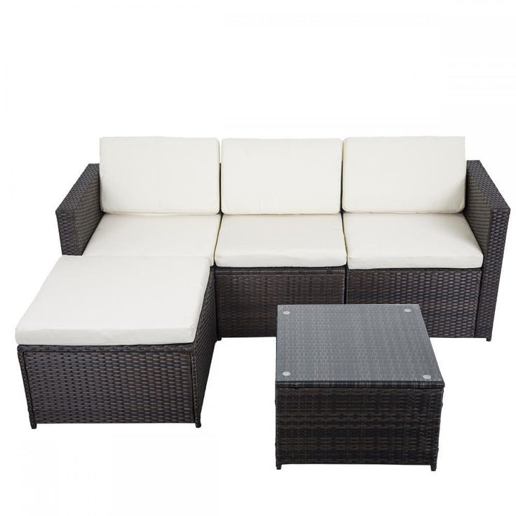 5 PCS Outdoor Patio Sofa Set Sectional Furniture PE Wicker Rattan Deck Couch F8 | Home & Garden, Yard, Garden & Outdoor Living, Patio & Garden Furniture | eBay!