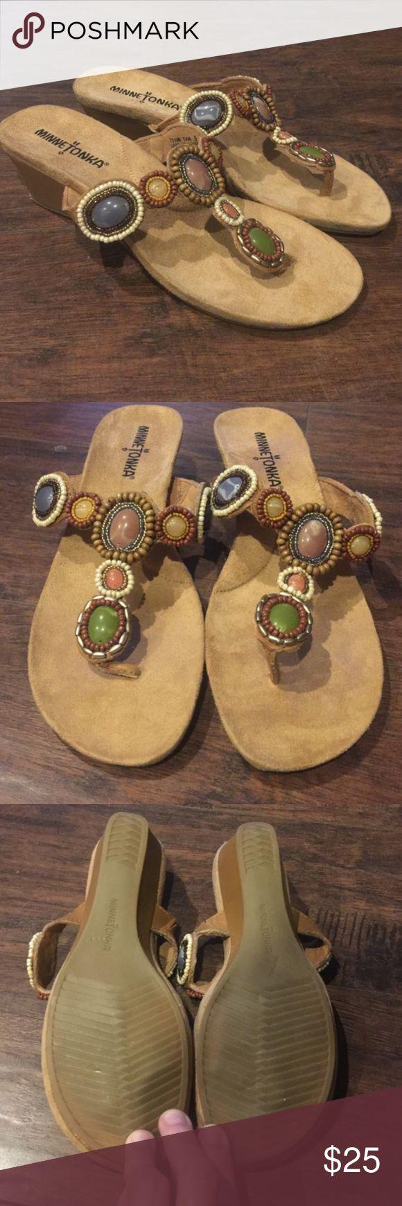 🎉Sale🎉 New Minnetonka Sandals New without box Minnetonka sandals size 5 Minnetonka Shoes Sandals
