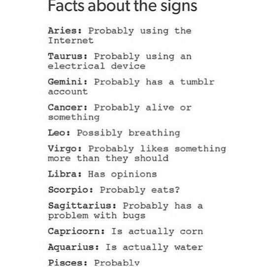 I do have a problen with bugs lol (Sagittarius)