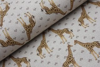 Žluté žirafy