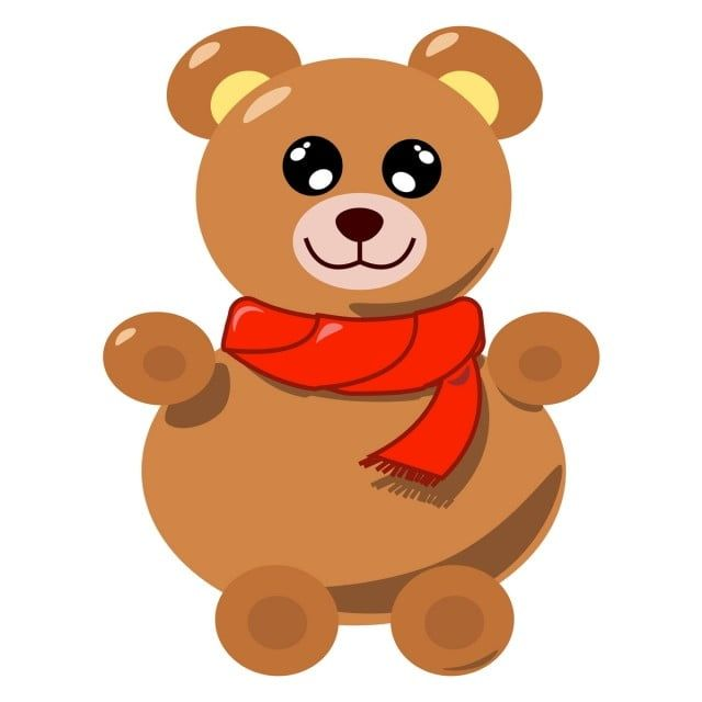 Teddy Bear Illustration Vector On White Background Vector Illustration Bear Png And Vector With Transparent Background For Free Download Bear Illustration Illustration Teddy Bear