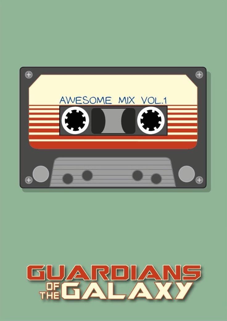 Guardians of the Galaxy (2014) ~ Minimal Movie Poster by David Peacock #amusementphile