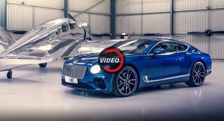 Explore The Stunning Design Of The New Bentley Continental GT