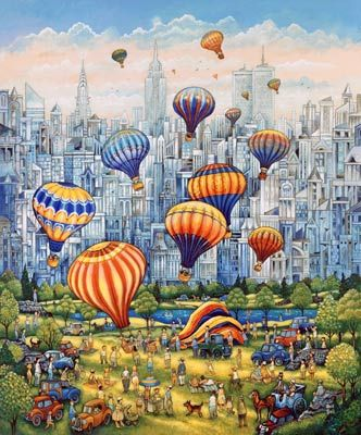 1000 images about art by bill bell on pinterest for Central park mural