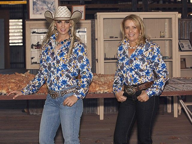 Kitty Fordè Cheyenne, a bright and fresh look to suit every age. $99.95 To $109.95. Sizes XS To 5XL Available. Australian Made. Exclusive To Rockahmpton Mavericks Western Wear. All products Available From www.rockymavericks.com.au