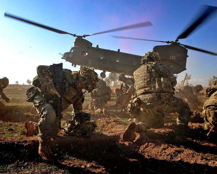 Royal Marines of 40 Commando in Afghanistan