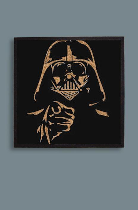 "Пробковая доска ""Дарт Вейдер"" / Cork board ""Darth Vader"".  Size: 60х60 cm. Рама / Frame: МДФ / MDF. Price: $36  #пробковаядоска #пробковыедоски #corkboard #handmade #доскадлязаметок #дартвейдер #darthvader #звездныевойны #starwars"