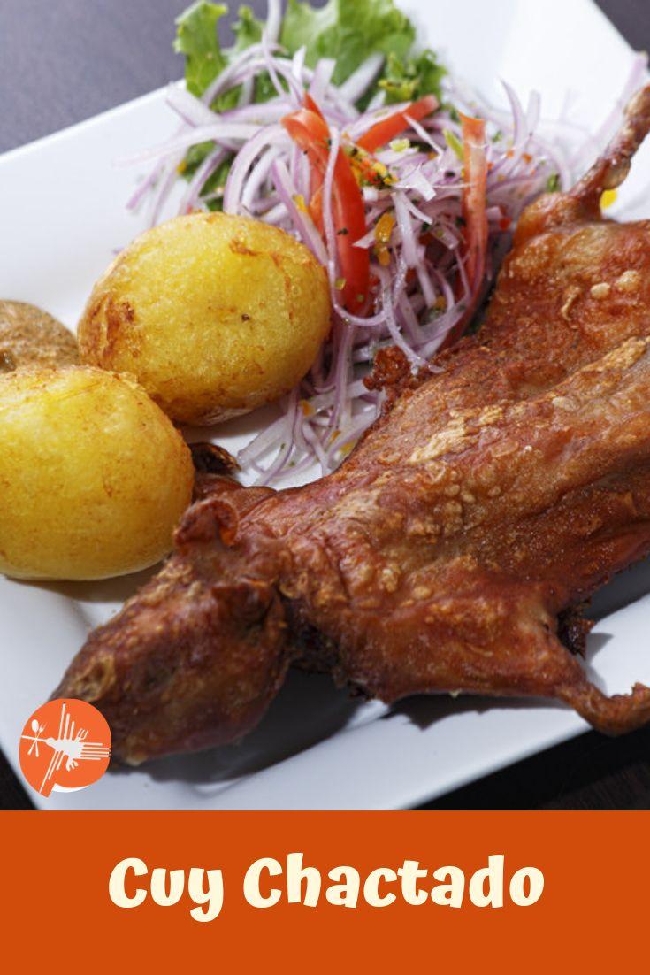 """✅ INGRESA ✅y Aprende a preparar este delicioso 😋😋Plato Peruano """"Cuy Chactado"""" 🥘🥘 ...................... Ingredientes ........................... 2 und Cuy entero evicerado /  ½ kg Papa /  1 und Limón /  2 und Huevo /  100 gr Harina de Trigo / ------------ #cuychactado #cuy #cuyperuano #comidadelperu #platoperuano #peruvianstew #recetaperuana #peruvianrecipe #peruviandishes #comidarica #peru #comidaperuana #peruvianfoods #cocinaperuana #peruviancousine #peruviangastronomy… Turkey, Pizza, Meat, Chicken, Food, Beverages, Peruvian Cuisine, Turkey Country, Essen"""